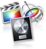 Apple Logic, Final Cut Pro and Motion