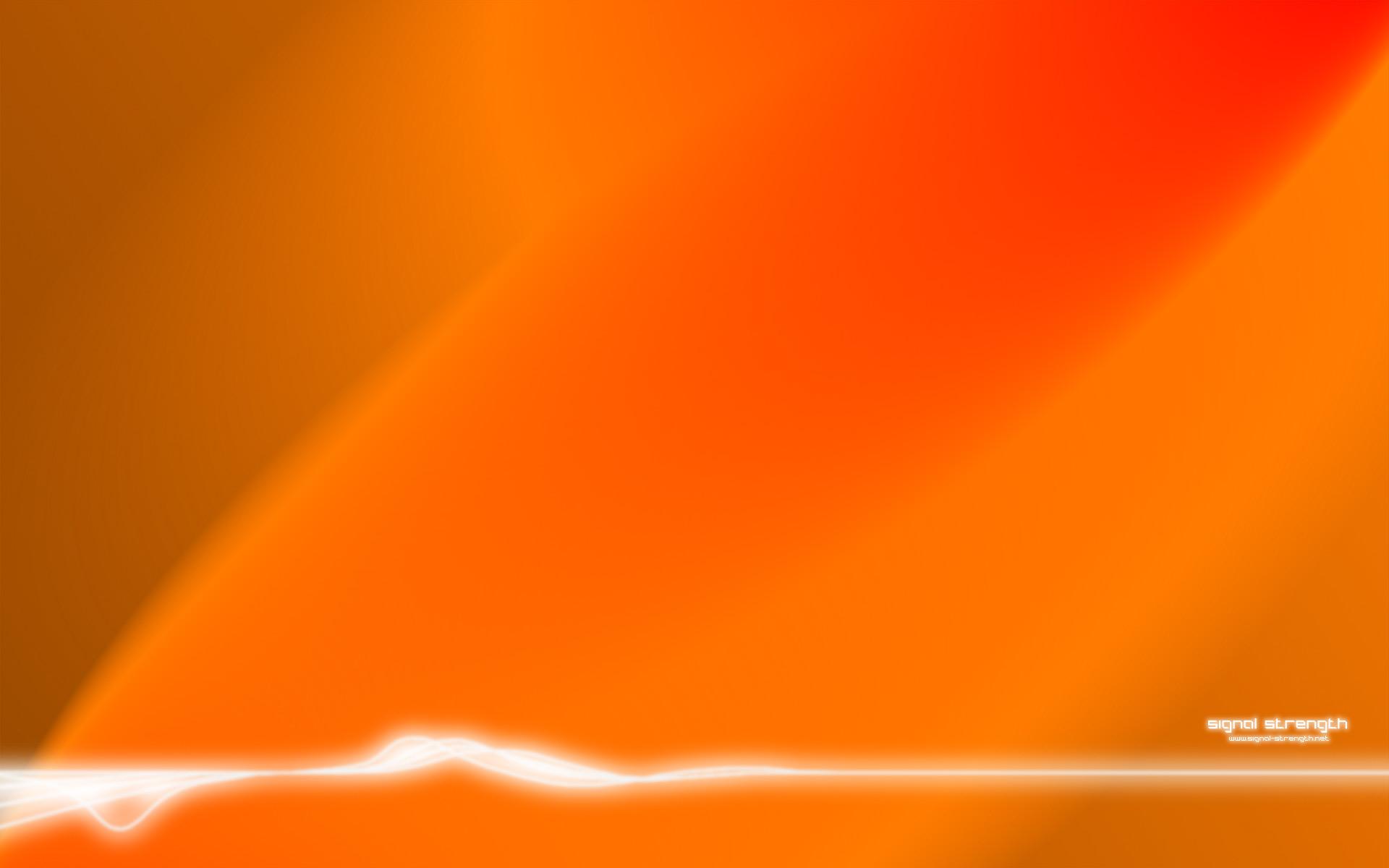 orange wave wallpaper - photo #1